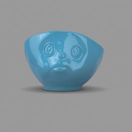 Schale schmollend blau