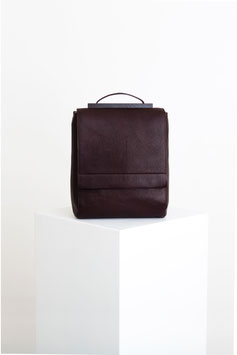 rucksack # ID8_17, dark bordeaux