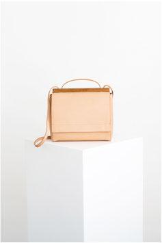 shoulder bag # ID1_17 ,nude