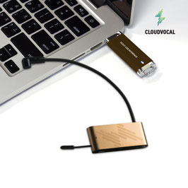 CLOUDVOCAL ISOLO Woodwind/Strings/Acoustic Guitar USB Recording Sets
