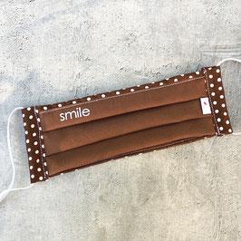 Schnuti 139LS Braun / Braun mit weißen Punkten mit smile Sommer