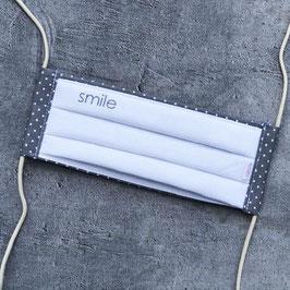 Schnuti 123L Weiß / Grau mit smile