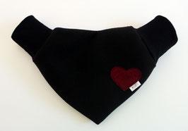 Partnerhandschuh Wollmischgewebe Schwarz