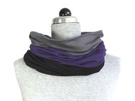 Schamütze - dünne Variante - grau / schwarz / und einmal Farbe