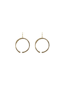 lk2904or : Symmetrical Gold Filled Earrings, 6cm ( 1,57 inches )