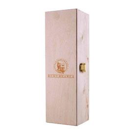 Weinkiste - Geschenkbox aus Holz mit Klappdeckel