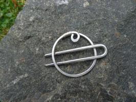 """""""Hera von Thal"""" Half-up Spange oder Zopfspange Kreis mit Forke"""
