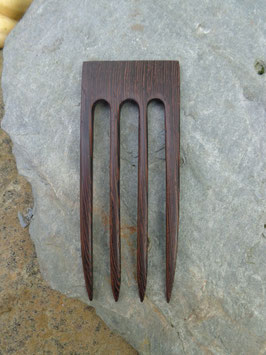 Reserviert! 4 zinkige Wenge Forke 12,3cm