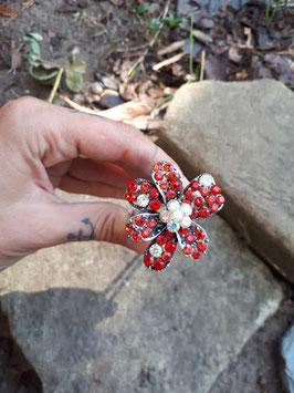 Große U-Pin Forke mit Strassblüte