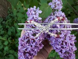 Duttspange Schmetterling 13cm