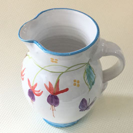 Petit pichet Fuchsia. Small jug Fuchsia.