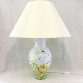 Très grande lampe de salon. Eschscholzia. Very large lamp. Eschscholzia