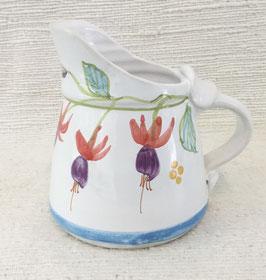 Petit cremier, Fuchsia. Small cream jug. Fuchsia