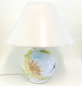 Lampe de chevet. Opale. Small bedside lamp. Opale