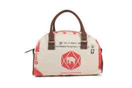 Elephbo Recycling Reisetasche (Weekender) - Red Elephant