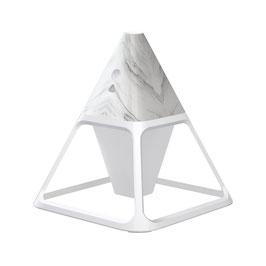 Linuo USB Luftbefeuchter Pyramide, Mamor-Optik, GO-LY-Y3M