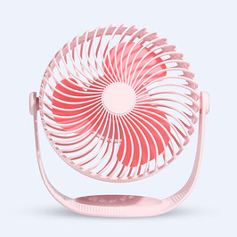 Linuo USB Tischventilator, pink, GO-F12P
