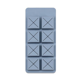 MUID Lipstick Holder Gray Blue,  H-B-01B, 8Slot
