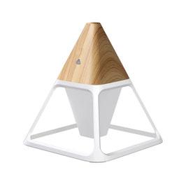 Linuo USB Luftbefeuchter Pyramide, Holz-Optik, GO-LY-Y3H