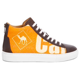 Elephbo Recycling Sneaker High - Orange Junior