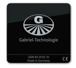 Gabriel-Chip iPhone mit fest integriertem Akku, schwarz, iPhone 8-11 (DEGDM60SC70)