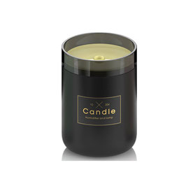 Linuo USB Ultraschall Luftbefeuchter Candle, schwarz