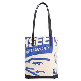 Elephbo Recycling Tote Bag - Blue Eagle