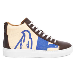 Elephbo Recycling Sneaker High - Blue Eagle