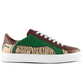 Elephbo Recycling Sneaker Low - Green Tiger