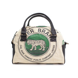 Elephbo Recycling Reisetasche (Shorttrip) - Green Tiger