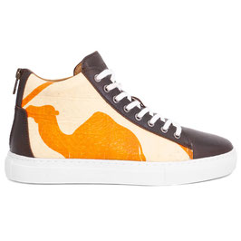 Elephbo Recycling Sneaker High - Orange Big Camel