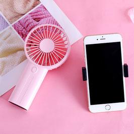 Linuo USB Handventilator, pink, GO-F02P