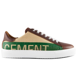 Elephbo Recycling Sneaker Low - Green Cement