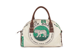 Elephbo Recycling Reisetasche (Weekender) - Green Tiger