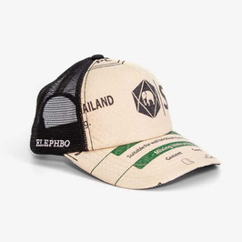 Elephbo Recycling Cap Mesh - Green Black