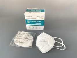 200 Stück - FFP2 EU zertifizierte Atemschutz - Maske