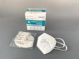 500 Stück - FFP2 EU zertifizierte Atemschutz - Maske