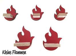 Erweiterungsregale - kleine Flammen