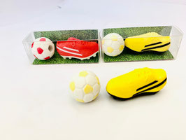 Radiergummi Fussball-Set