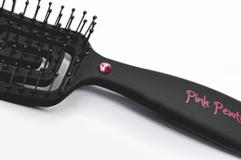 "PINK PEWTER ""EXTREME VENTED FLEX"" SMALL CONTOURED STYLING BRUSH"