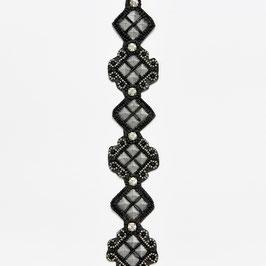 GW - PINK PEWTER DIAMOND - BLACK