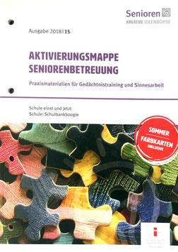 Aktivierungsmappe Seniorenbetreuung 2018|15 ohne CD