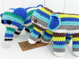 Rassel Elefant DUMBO ♥ blau