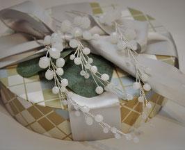 Haarnadel Set (drei Haarnadeln) für Braut oder Trauzeugin