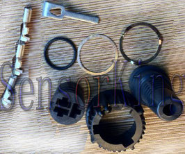 3703-02155K1  Connetor Kit-3 Spade Pins Ref: VDO 2155.92 00 00 08