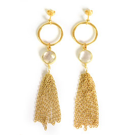 statement earrings gold