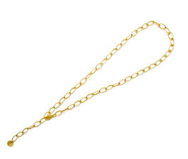 SPARKLE choker CHAIN GOLD