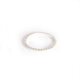 minimal ring silver
