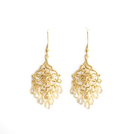 crystal chandelier gold