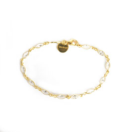 zirconia BRACELET gold